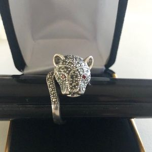 Jewelry - Leopard Silver Ring